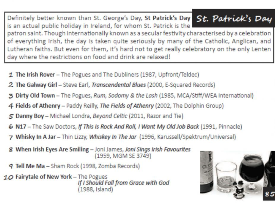 London DJ St Patricks Day