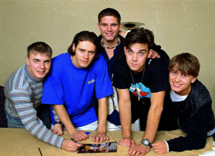 Take That 21st Birthday Party