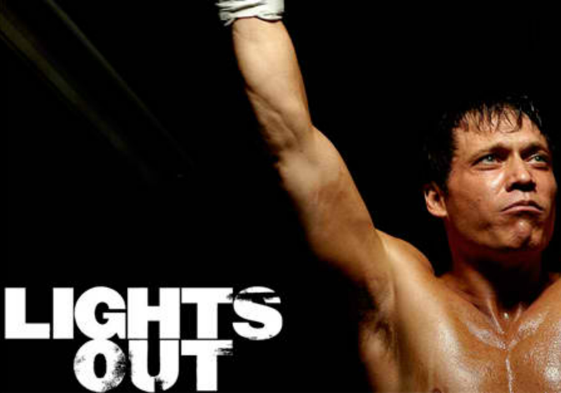 London DJ at lights out boxing