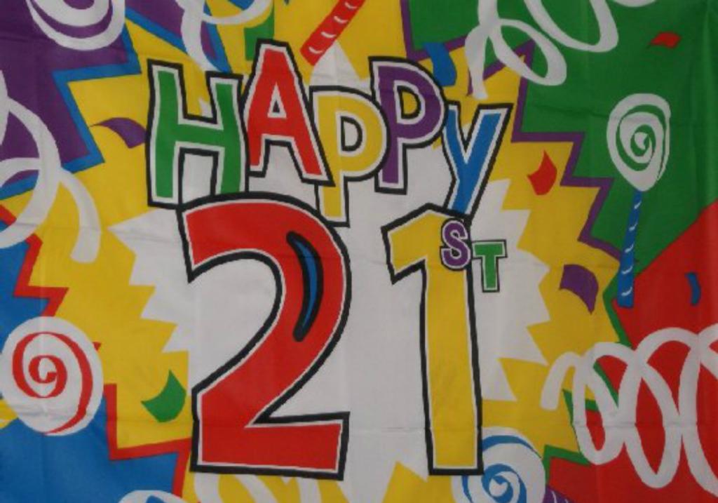 London DJ 21st Birthday Party